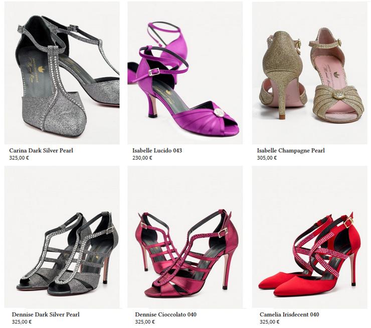 reina zapatos baile