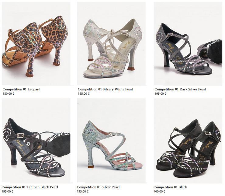 9ffe9057fb Zapatos Mujer Reina Modelo Competición (Competition)