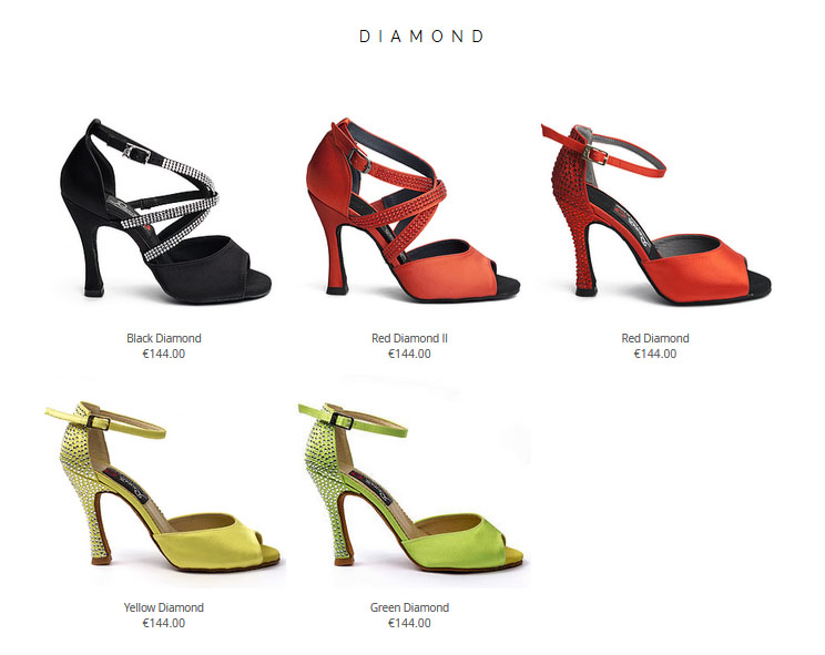 Zapatos Baile Reina Diamond