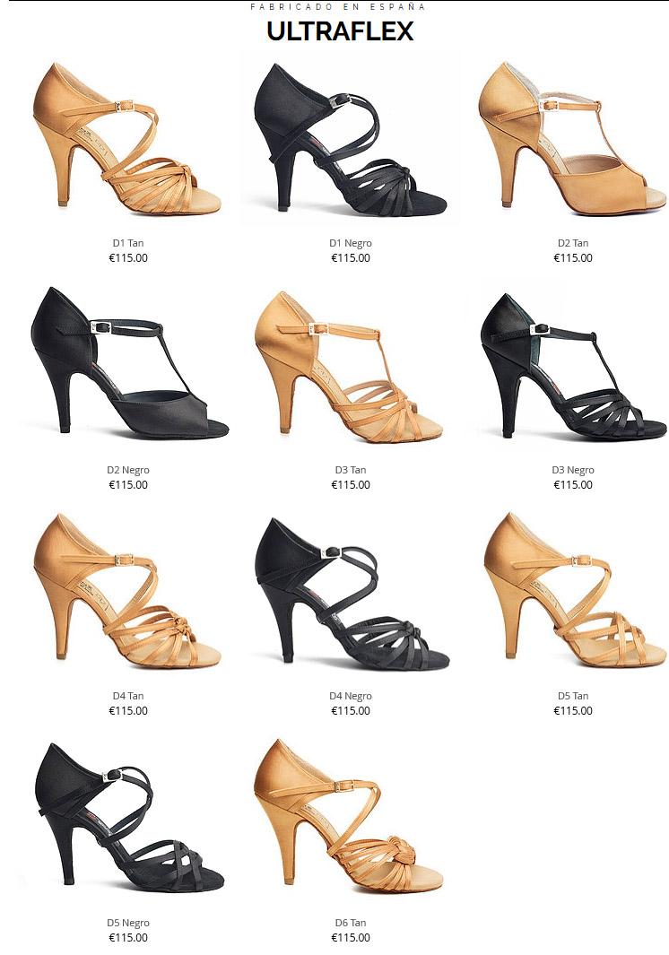 Ultraflex Mujer Marca Zapatos Reina Bailes De Salón wqqtY8