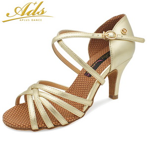 Zapatos de baile ADS Mujer Latino MG2001N-GOLD